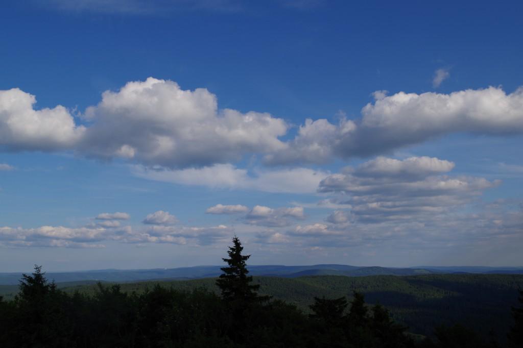 Durchatmen im Thüringer Wald: Ein. Und aus. Ein. Und wieder aus...